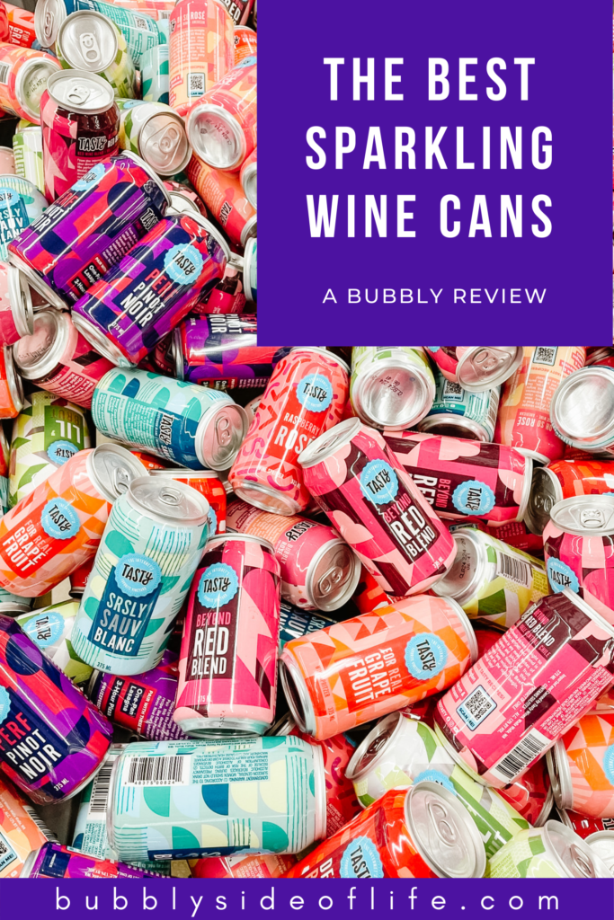 Canned sparkling wine has certainly made a splash and quite frankly it's perfect for summer. We did the work and tested seven different brands of canned bubbly to help you choose which bubbly cans you should buy for your next pool party, summer picnic, beach trip, summer party, tailgate, sporting event or any occasion! Check out the blog post for the full review and follow along here for all things bubbly!