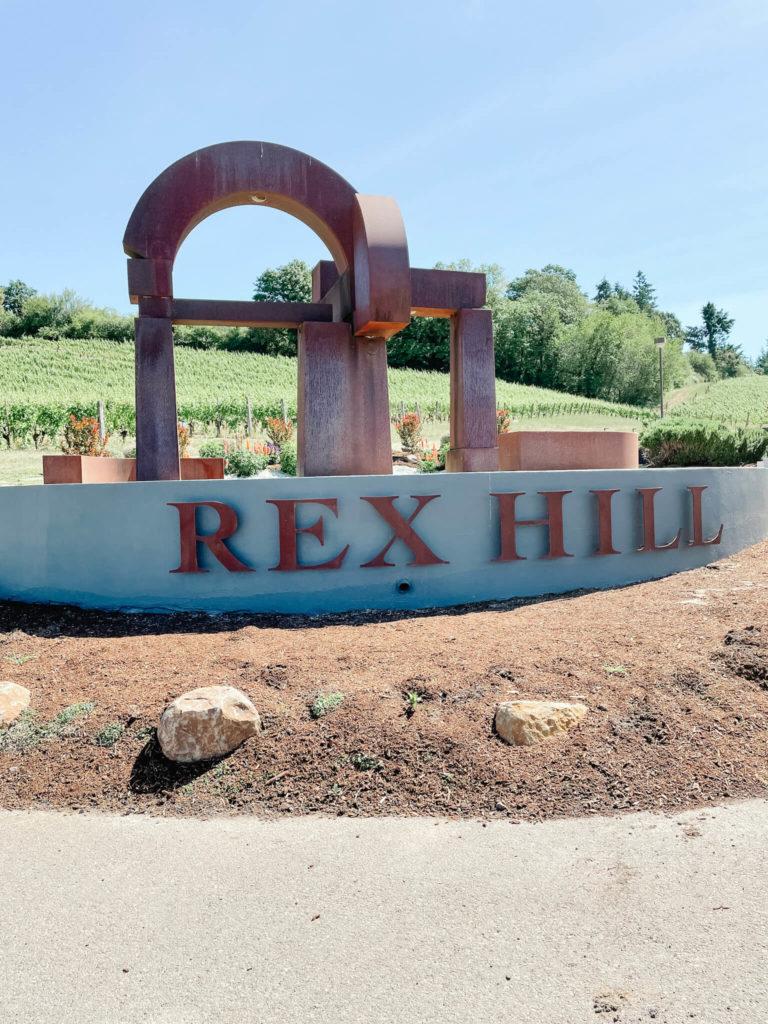 Rex Hill Winery in Willamette Valley