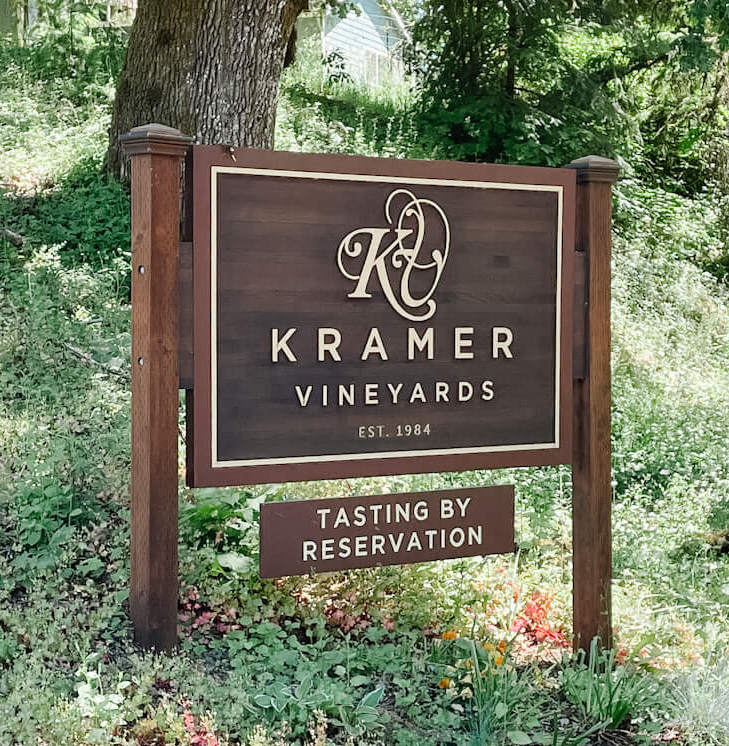 Kramer Vineyards with over 10 sparkling wines to choose from!