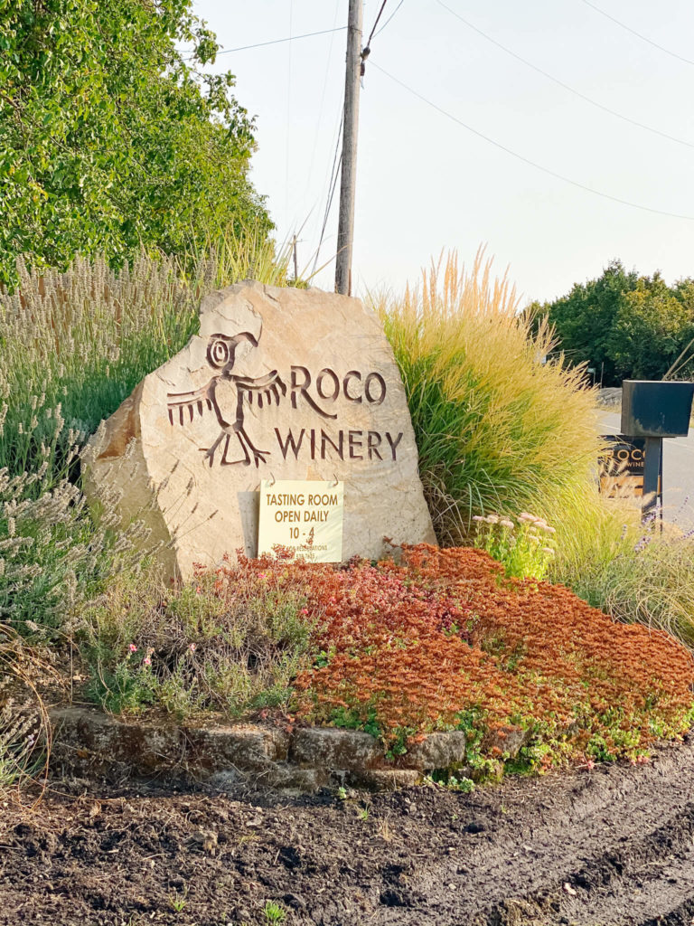 Roco Winery, the home of the original sparkling winemaker in all of Oregon.