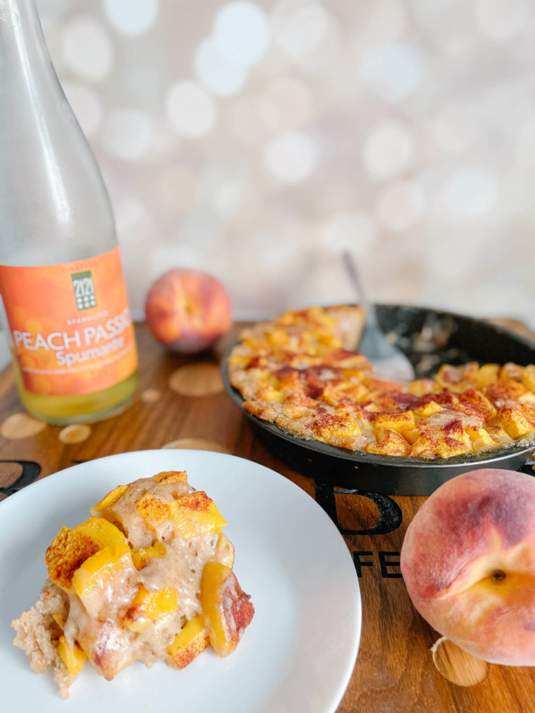Bubbly peach recipes you will love!