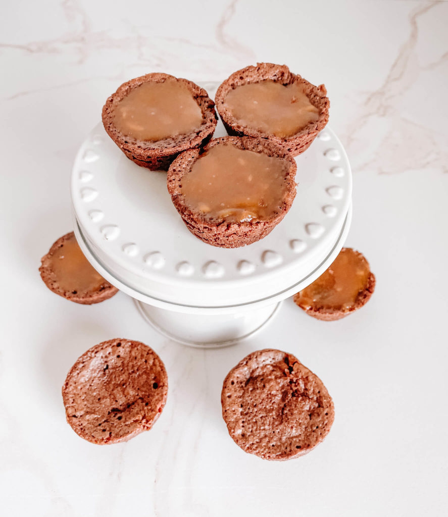 A new favorite bubbly dessert recipe-bubbly brownie bites.