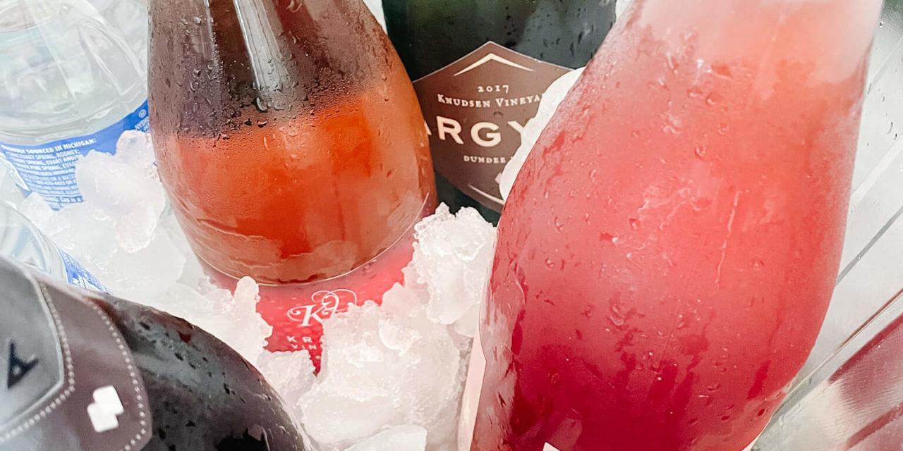 Your Girlfriends Will Love This Unique Sparkling Wine Tasting Experience