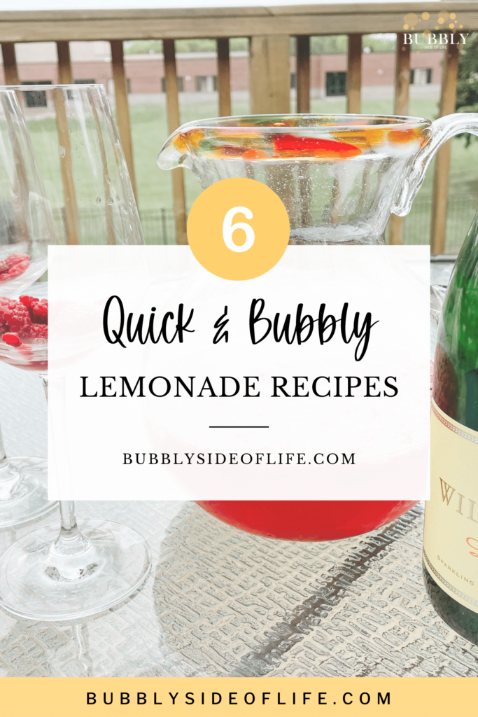 We compiled some of our favorite cocktail, mocktail, and popsicle recipes using lemonade that are great for summer parties and to add a bit of fun to your next gathering. Check out my blog for the full recipes and follow along here for all things bubbly! Summer Drink Recipes   Non Alcoholic Drinks for Summer   Mocktails   Sparkling Wine Cocktail Recipes   Bubbly Recipes   Cocktail Recipes   Summer Cocktail Recipes   Lemonade Recipe   Picnic Ideas