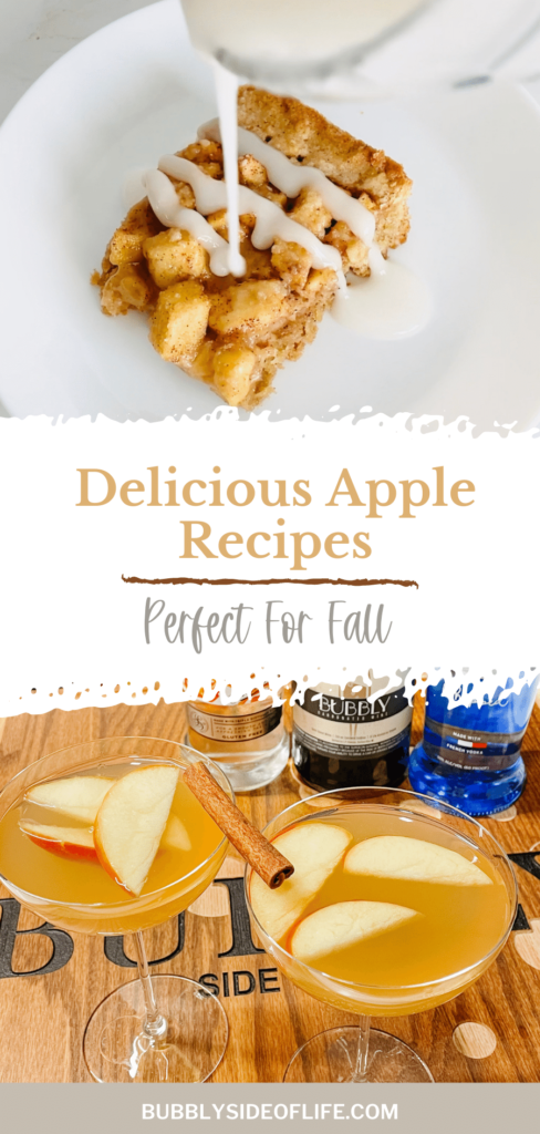 When you think of fall recipes, what comes to mind?  For us, it's pumpkins or apples so here are two recipes for delicious apple fall treats that are perfect for your next fall party, brunch, or to simply put your apples to use after apple picking. Learn how to make the apple bars with sparkling wine as well as the perfect sparkling caramel apple cocktail recipe to pair with the bars. Check out our blog for the full recipes and follow along here for all things bubbly!