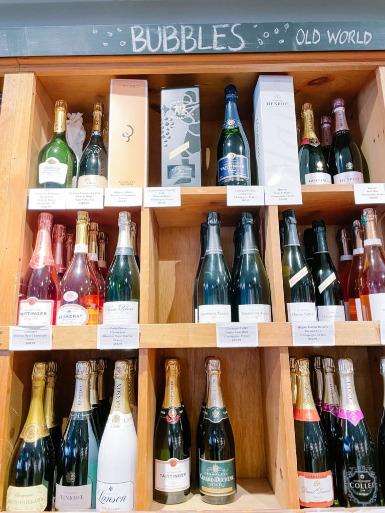 Check out Tannins bubbly selection and stock up for your next celebration.